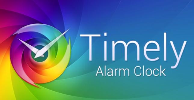 Timely Clock app