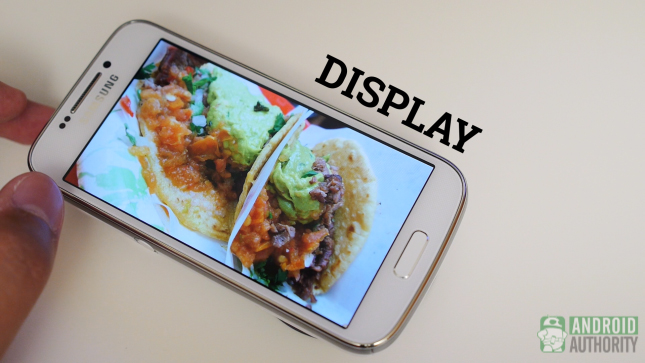 samsung galaxy s4 zoom aa display