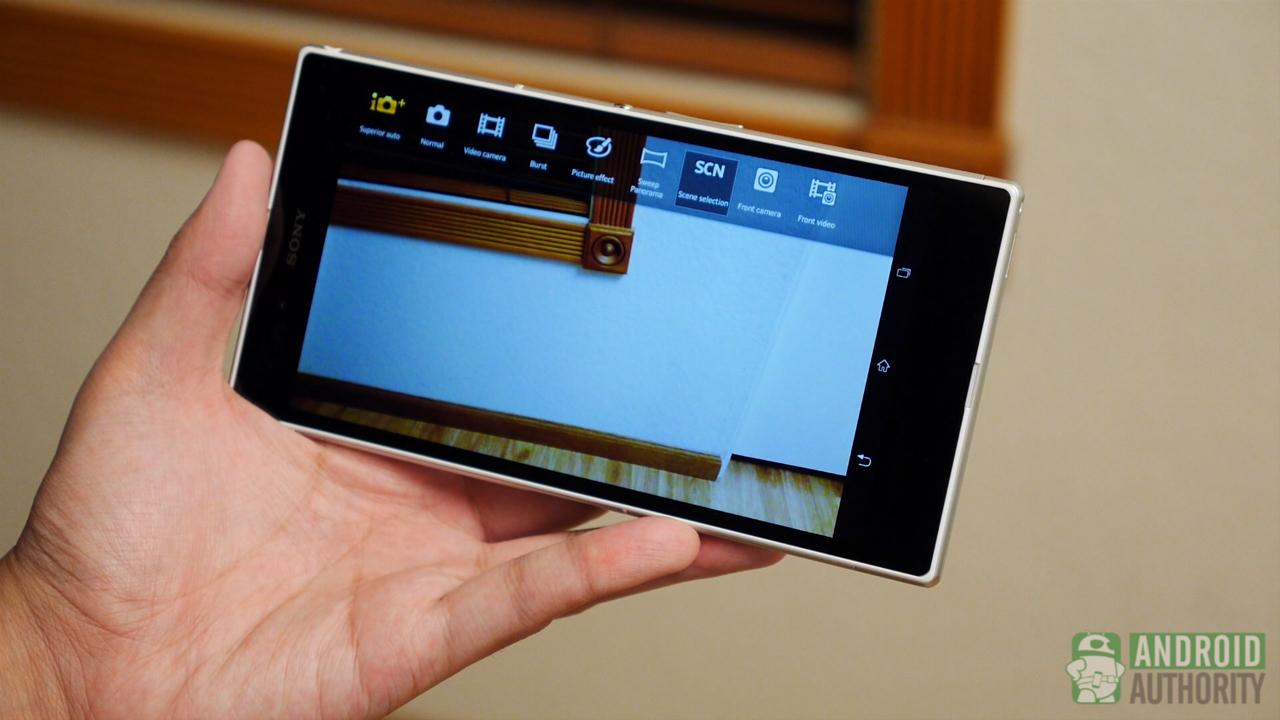sony xperia z ultra aa camera app modes