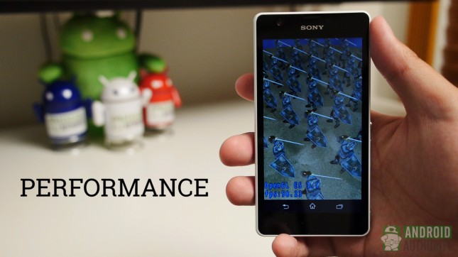 sony xperia zr aa performance