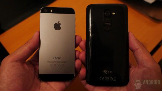 Apple iPhone 5s vs LG G2 aa 11