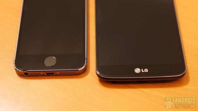 Apple iPhone 5s vs LG G2 aa 2