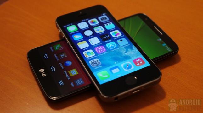 Apple iPhone 5s vs LG G2 aa 8