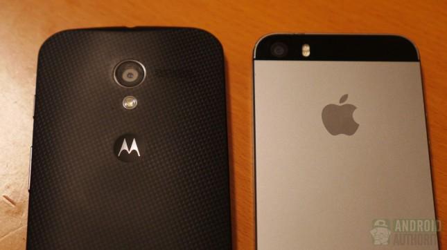 Apple iPhone 5s vs Motorola Moto X aa 3