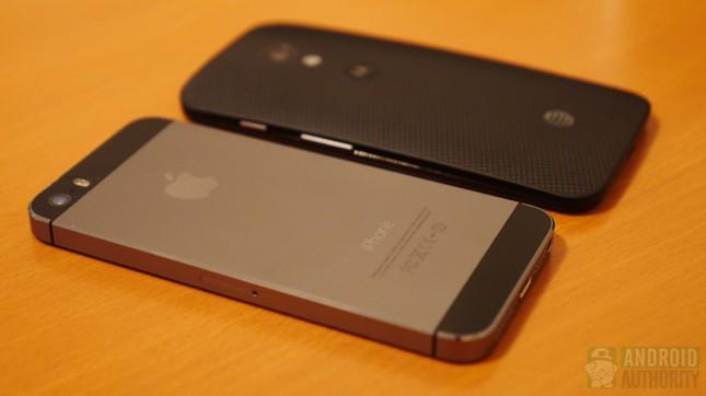 Apple iPhone 5s vs Motorola Moto X aa 9