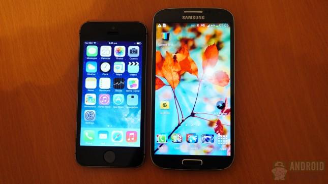 Apple iPhone 5s vs Samsung Galaxy S4 aa 10