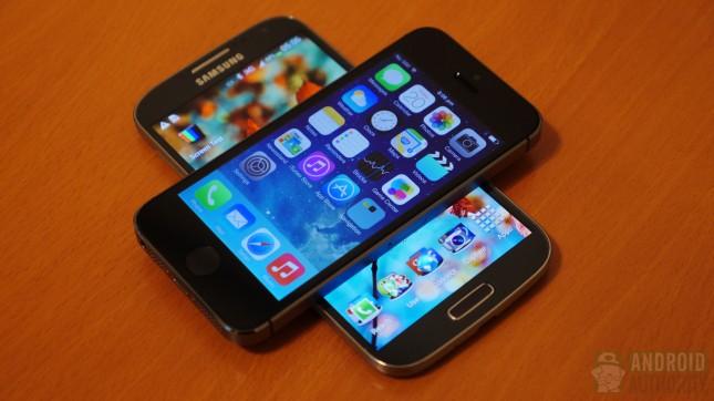 Apple iPhone 5s vs Samsung Galaxy S4 aa 13