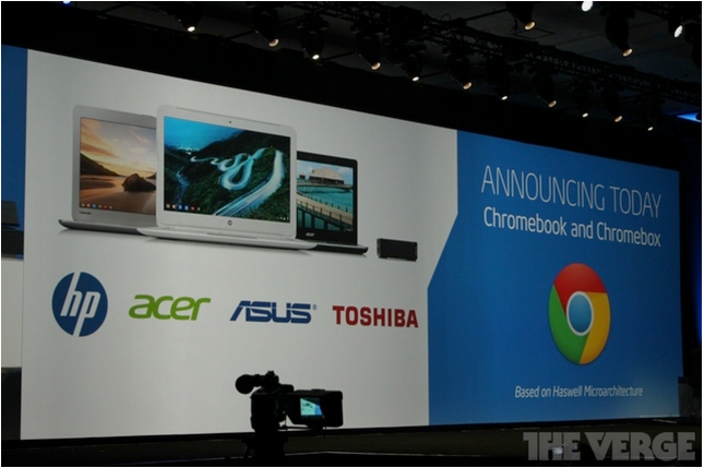 Three new Chromebooks