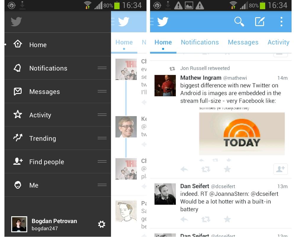 Twitter 5 Beta 3