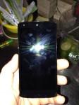 LG Nexus 5 in bar