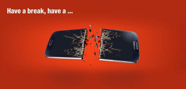 Nokia KitKat attack on Samsung
