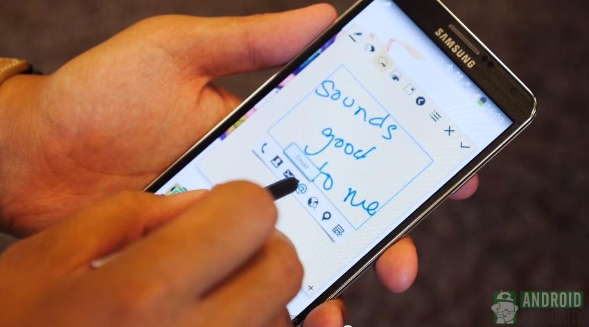 Galaxy Note 3 S Pen action memo