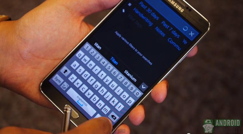 Galaxy Note 3 S Pen s finder