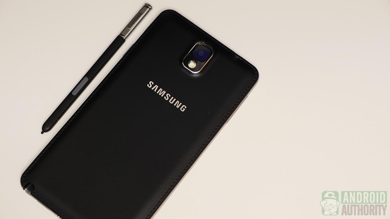 Samsung Galaxy Note 3 jet black S pen stylus aa 1