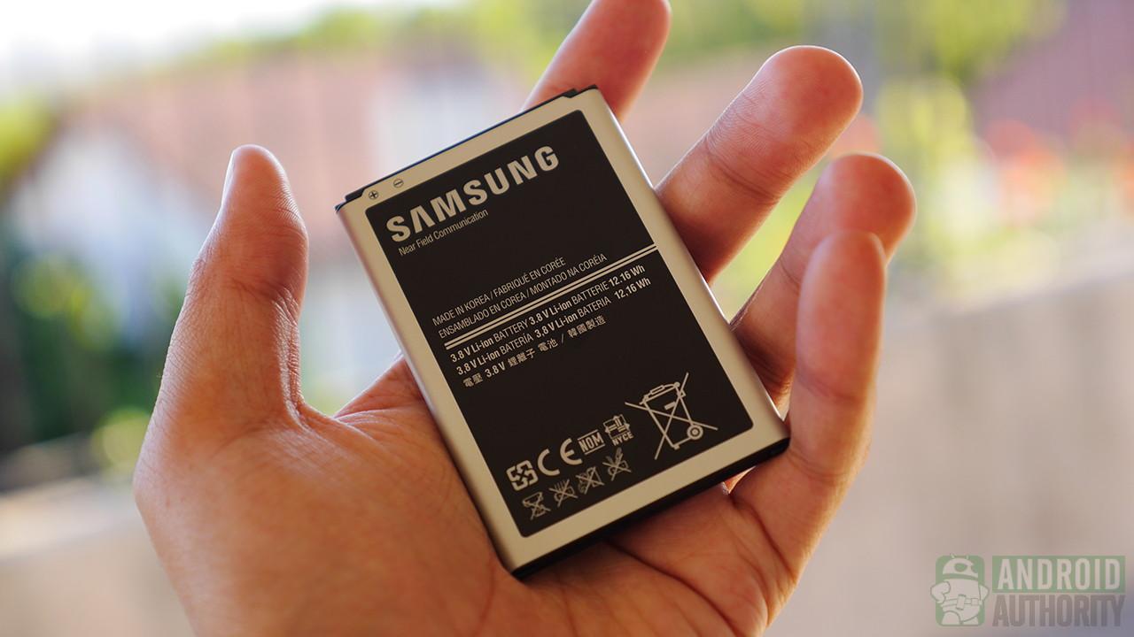 Samsung Galaxy Note 3 jet black battery aa 1