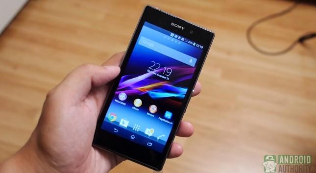 Sony Xperia Z1 vs Zperia Z aa 9