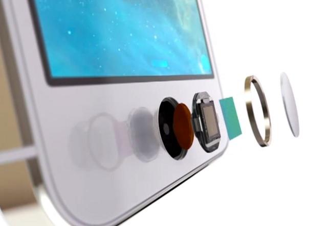 iPhone touchID fingerprint scanner