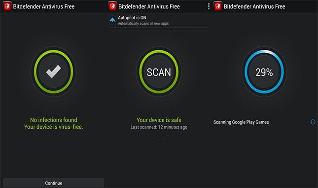 Bitdefender Antivirus screenshot 1