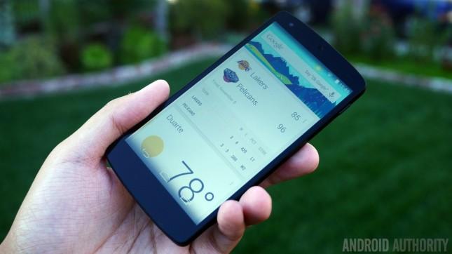 Google Nexus 5 black aa 7
