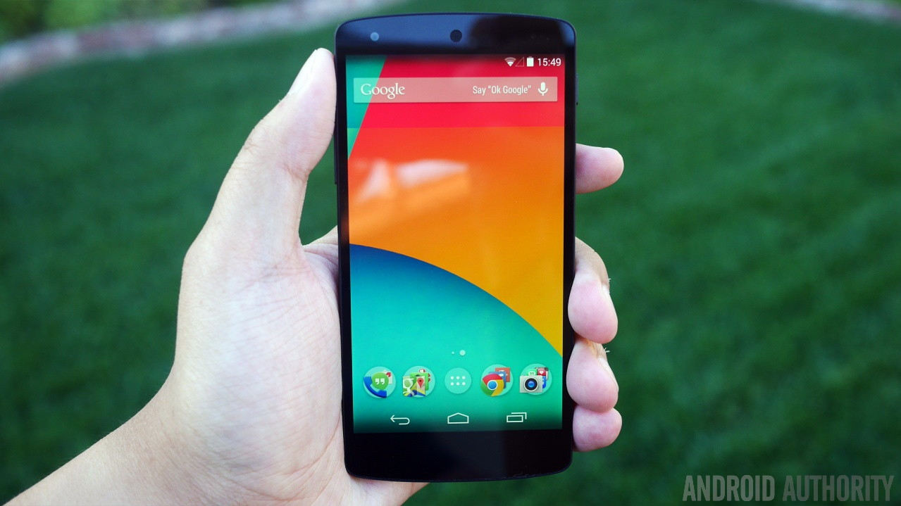 Google Nexus 5 black aa 8