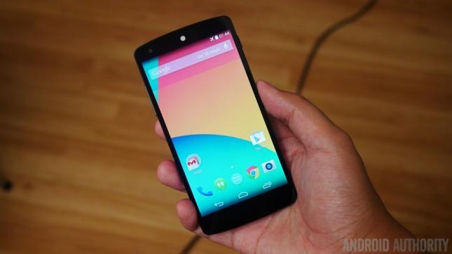 Google Nexus 5 black vs white aa 7