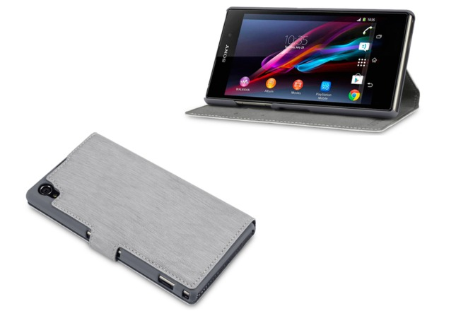 sony xperia z1 accessories covert faux leather wallet case