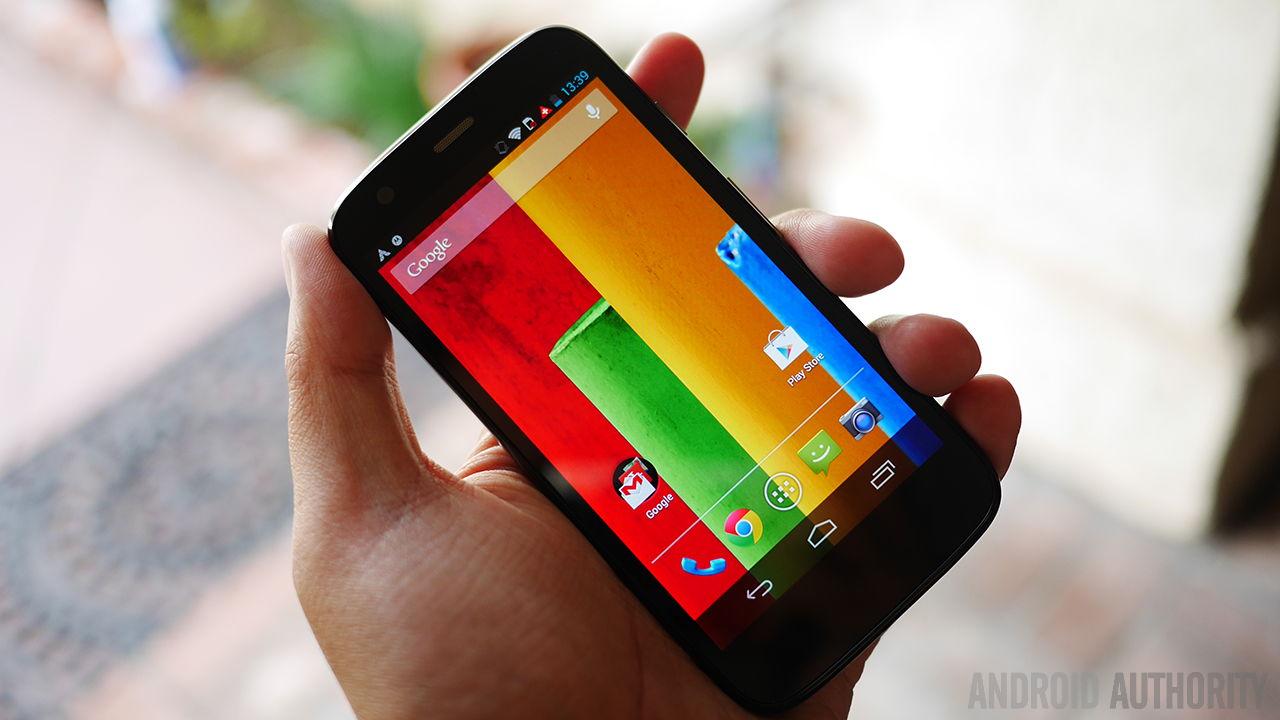 Motorola Moto G aa 8