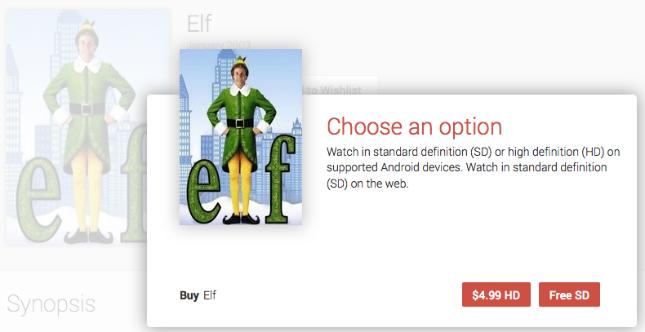 Elf - Google Play Movies