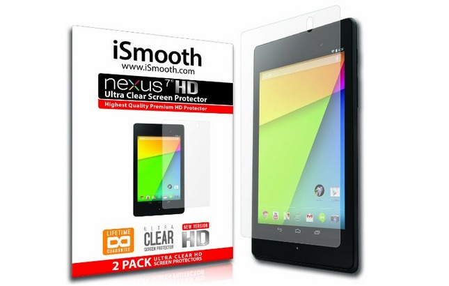 nexus 7 2013 accessories ismooth screen protector