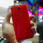 Alcatel OneTouch Idol X+ Hands On Front Rear Side CES 2014 AA -26