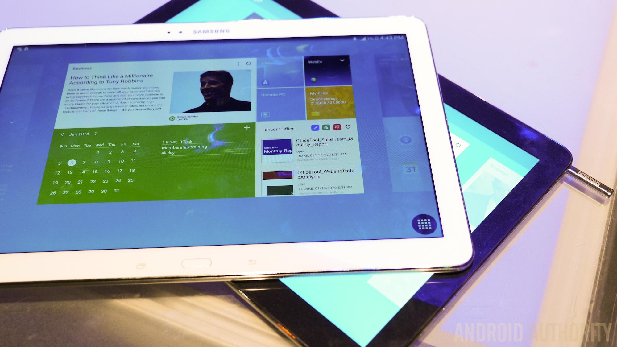 Galaxy TabPro12.2 vs GalaxyNotePro 12.2