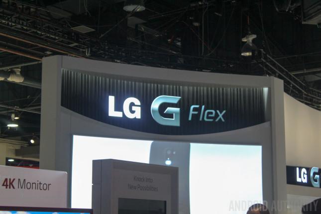 LG G Flex CES 2014-1