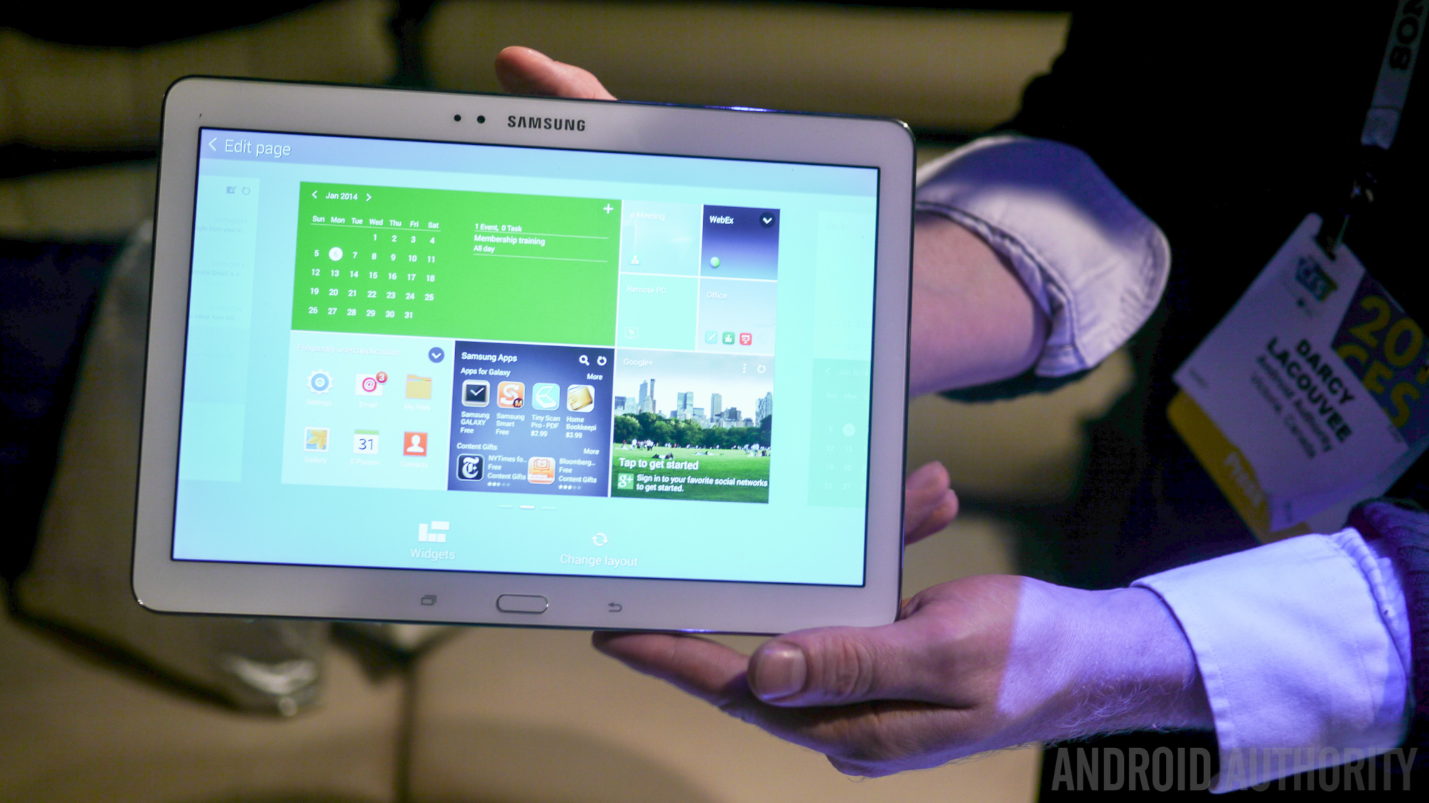 Samsung Galaxy Notepro 122 Official Specs Features Pricing And Note Pro P901 Hands On Images