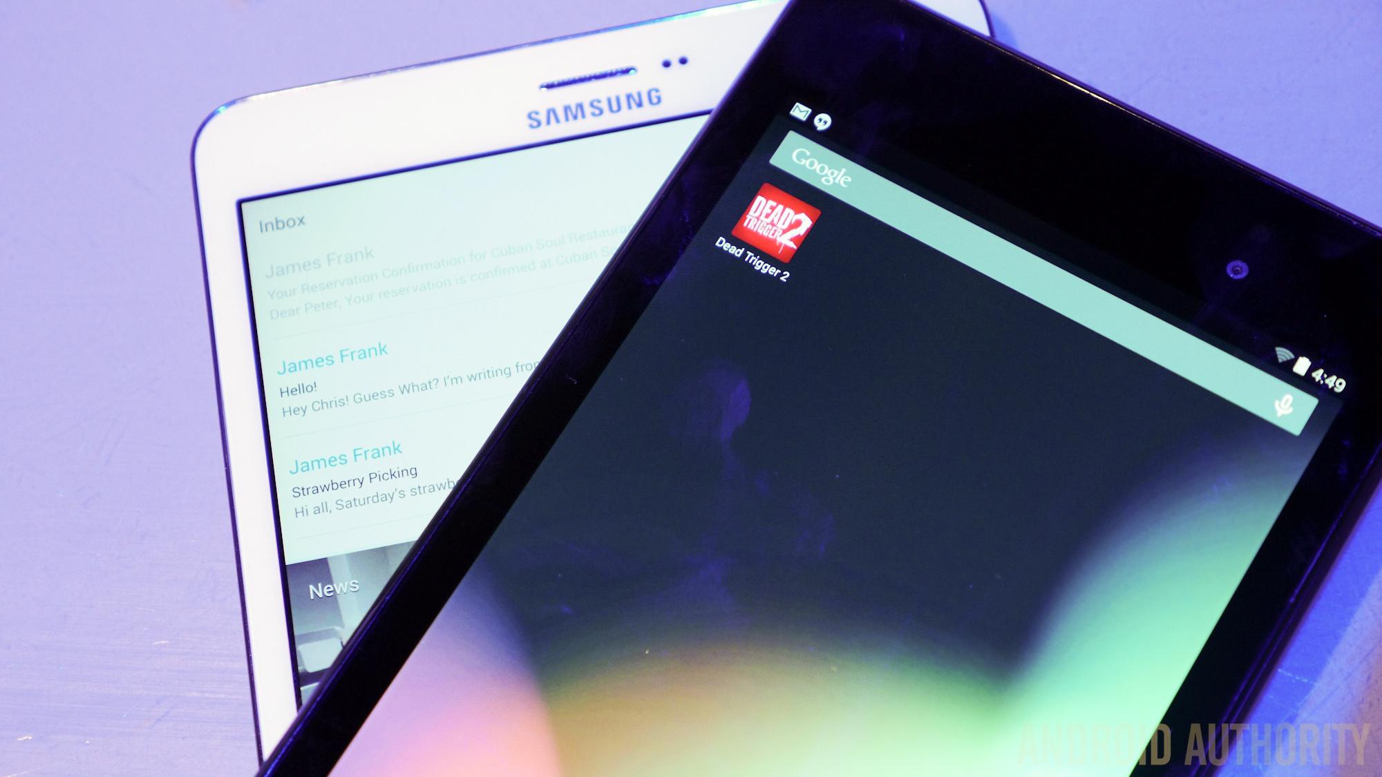 Samsung Galaxy TabPro 12.2 vs Nexus 7 2013 -2