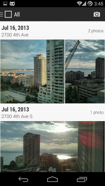 CyanogenMod GalleryNext
