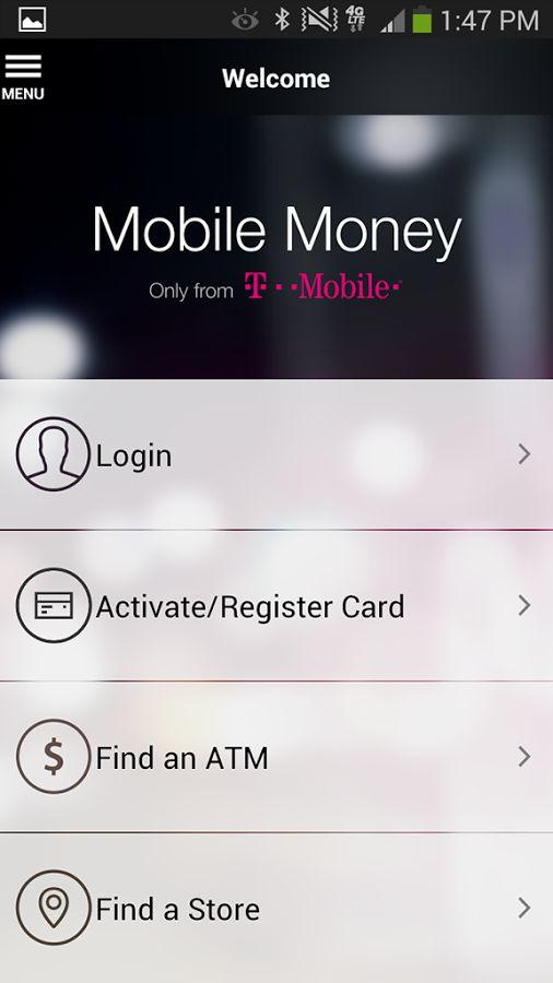 T Mobile Mobile Money App