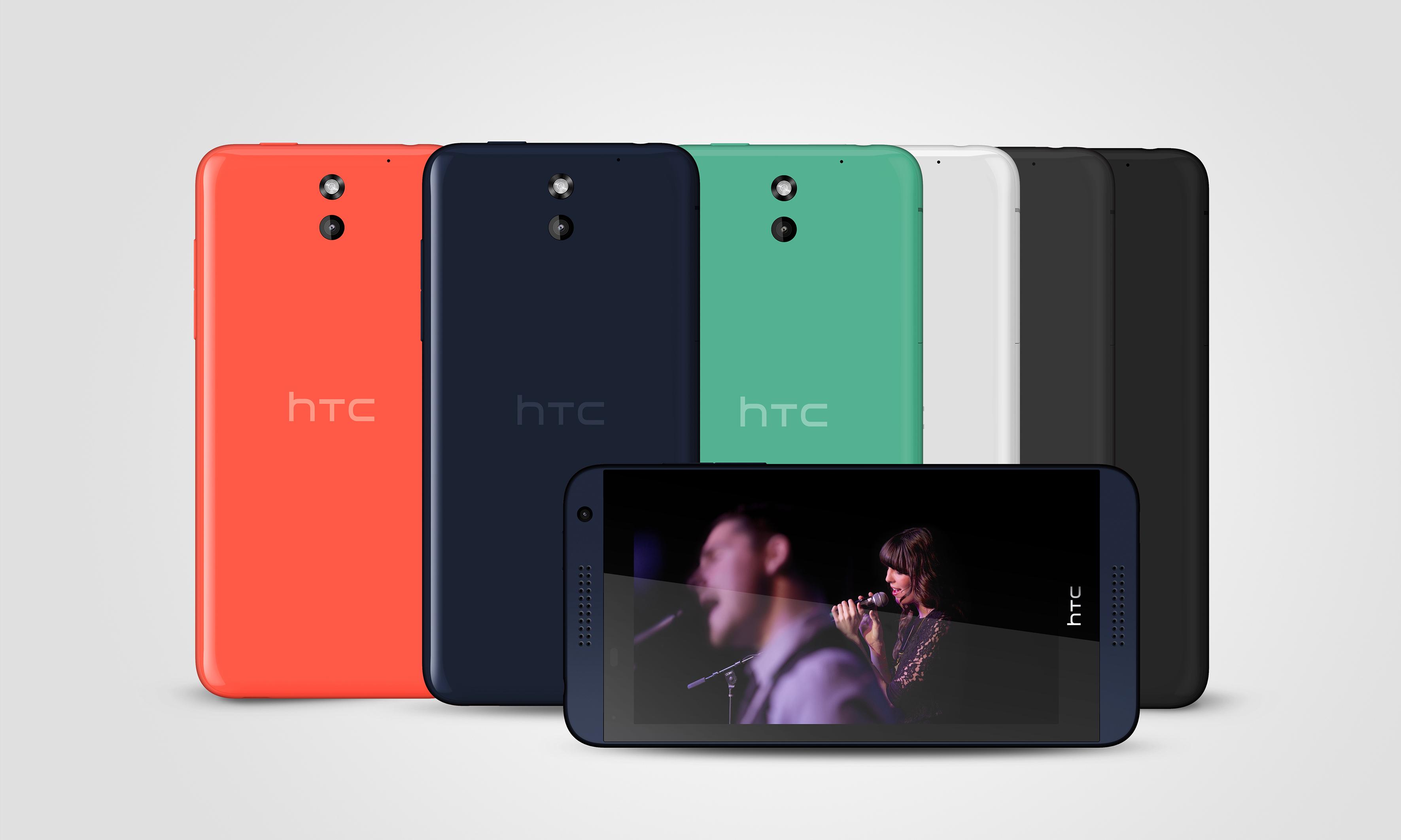HTC Desire 610 All Colors