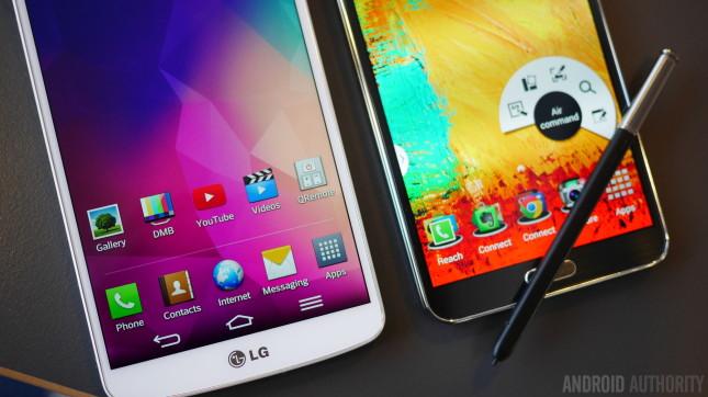 LG G Pro 2 vs Samsung Galaxy Note 3 aa 6