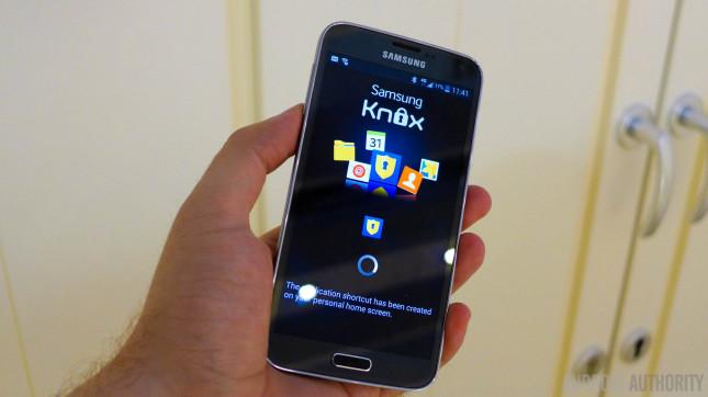 Samsung Galaxy S5 181 knox