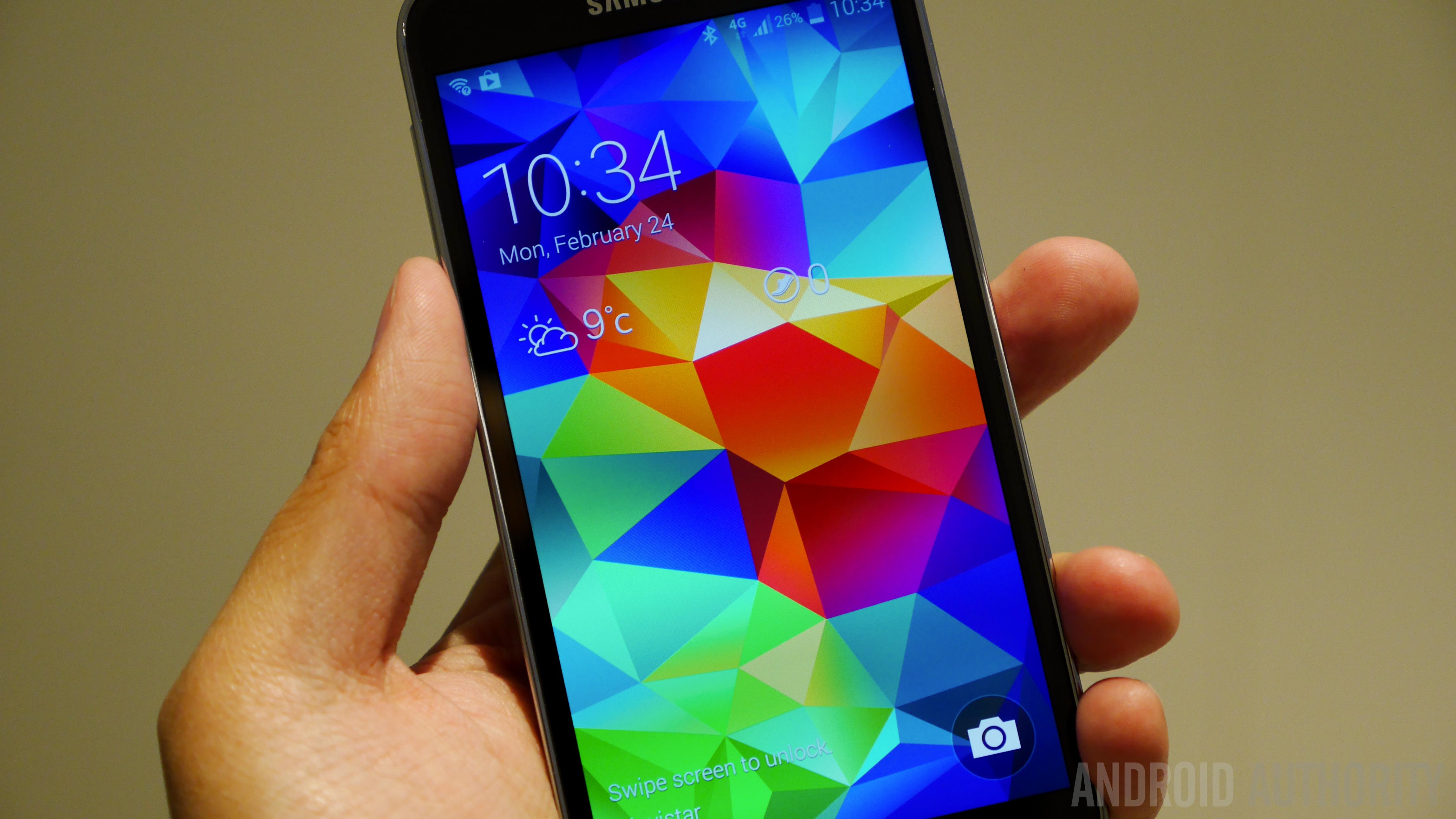 Samsung Galaxy S5 Hands on MWC 2014-1160010