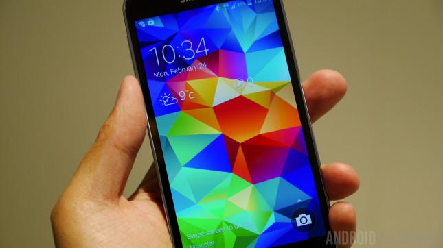 Samsung Galaxy S5 Hands on MWC 2014-1160012