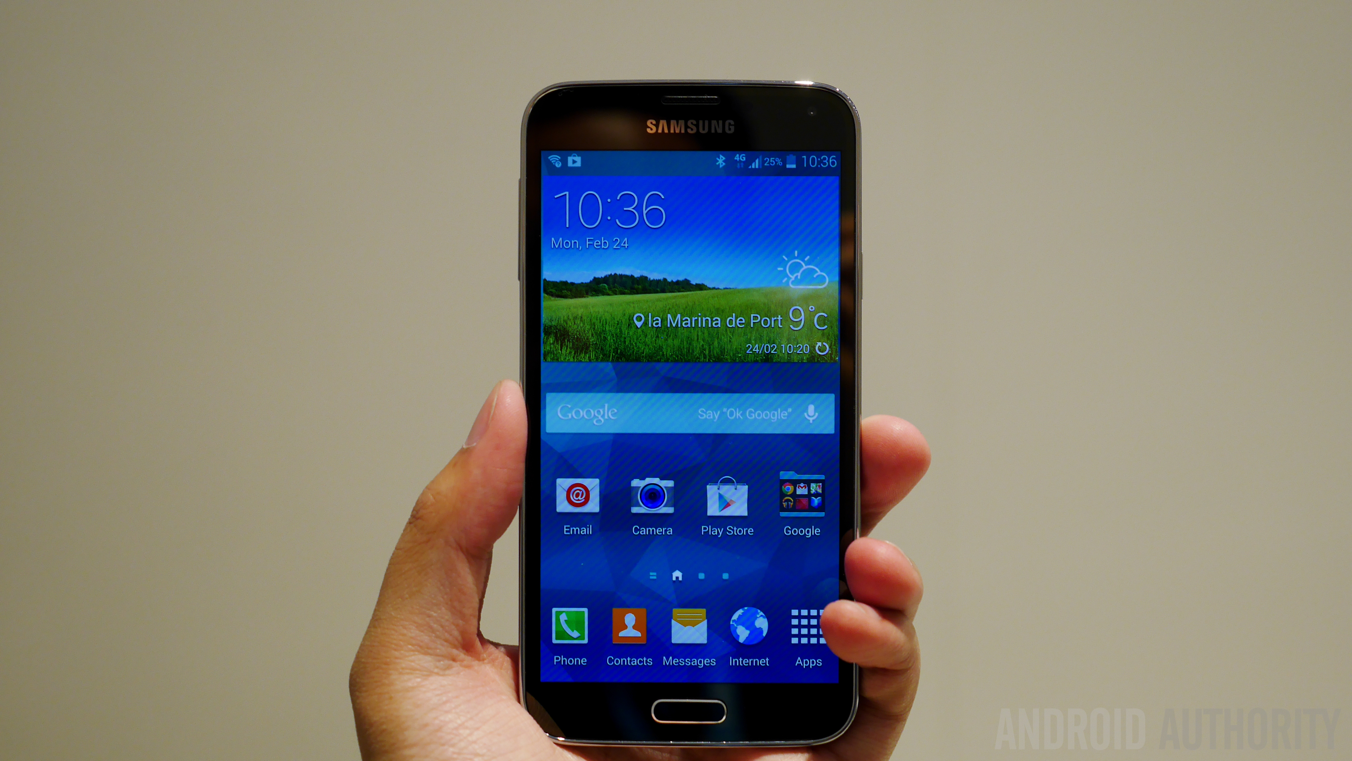 Samsung Galaxy S5 Hands on MWC 2014-1160048