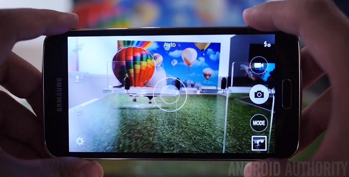 Samsung Galaxy S5 camera