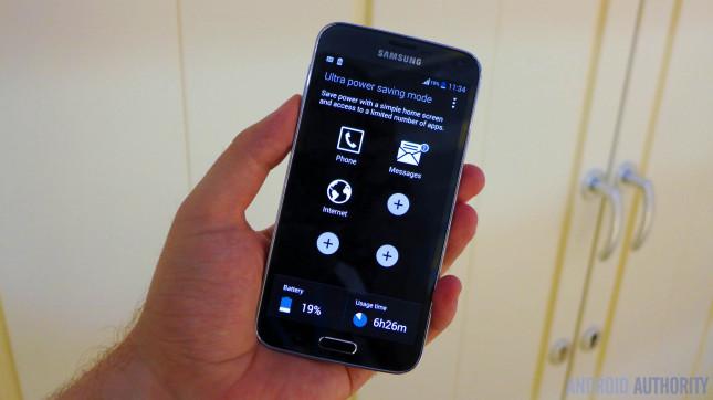 Samsung Galaxy S5 power saving grayscale 2