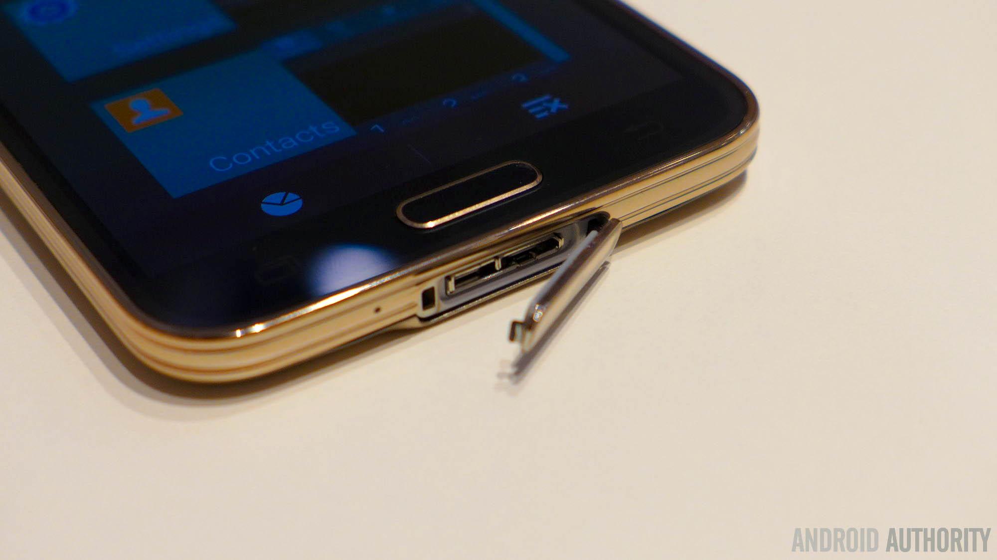 Samsung Galaxy S5 usb flap fingerprint aa 3