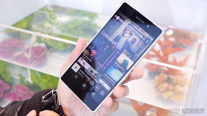 Sony Xperia Z2 walkman