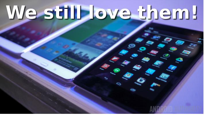 We still love tablets