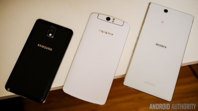 galaxy note 3 oppo n1 xperia z1 ultra phablets aa 3