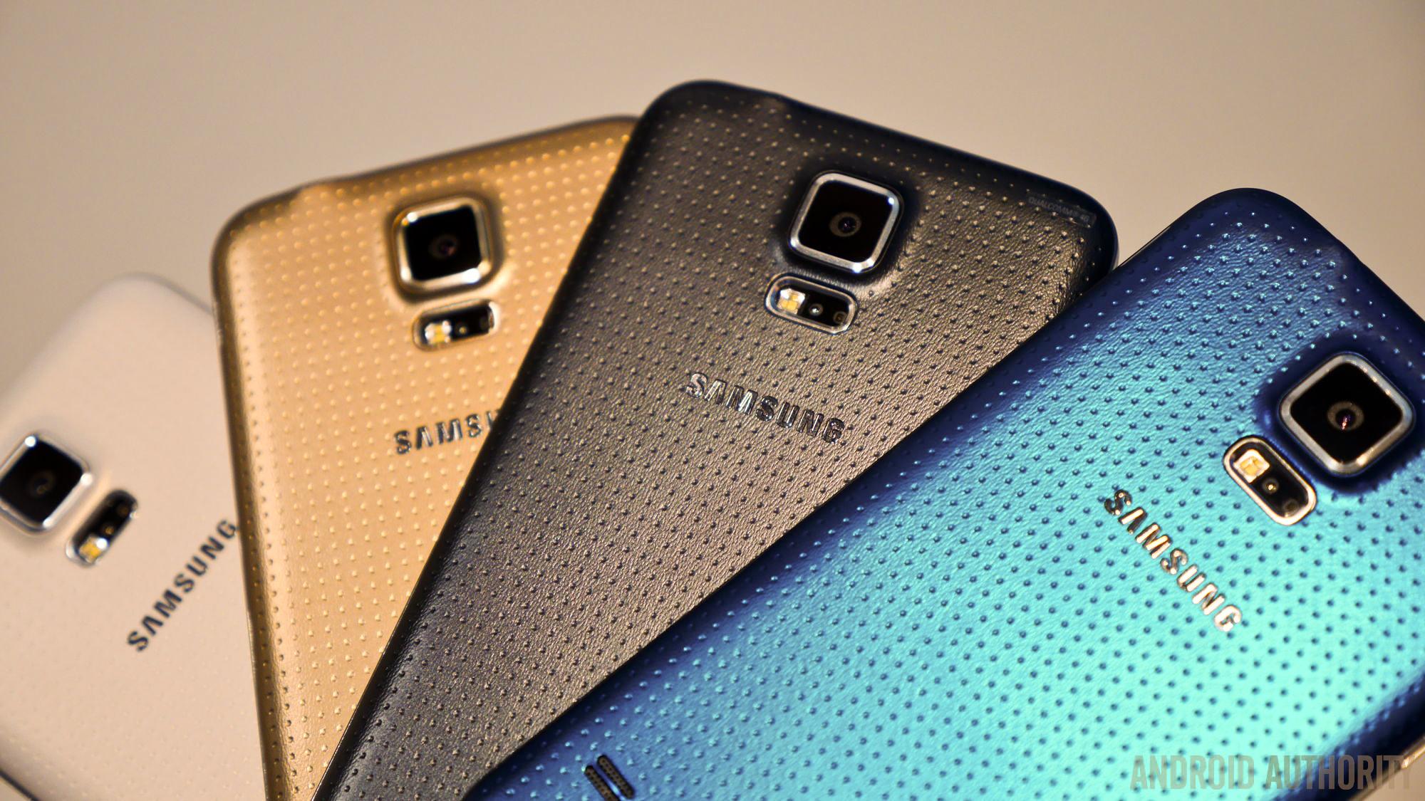 samsung galaxy s5 smartphones color options 5 - Color A Picture