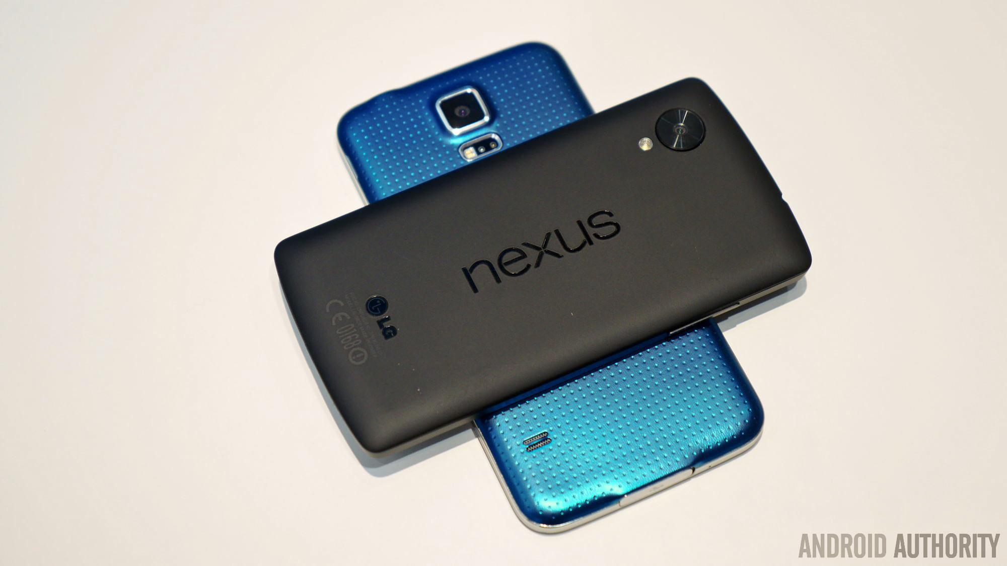 samsung galaxy s5 vs nexus 5 3
